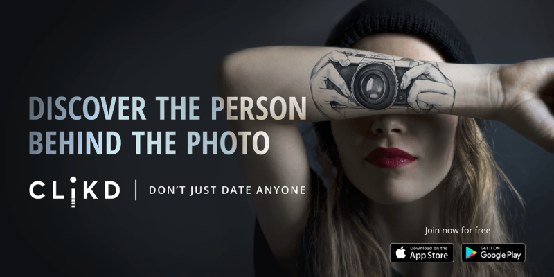 CLiKD, Creative Dating App - Don't Just Date Anyone