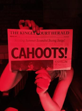 Date no.2 at Cahoots!