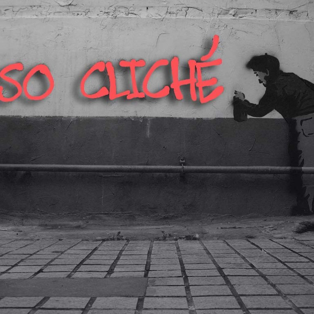 so cliché graffiti