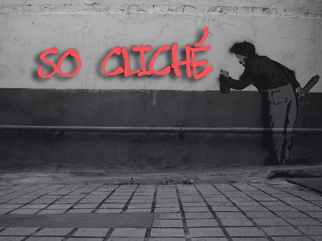 so cliché graffiti