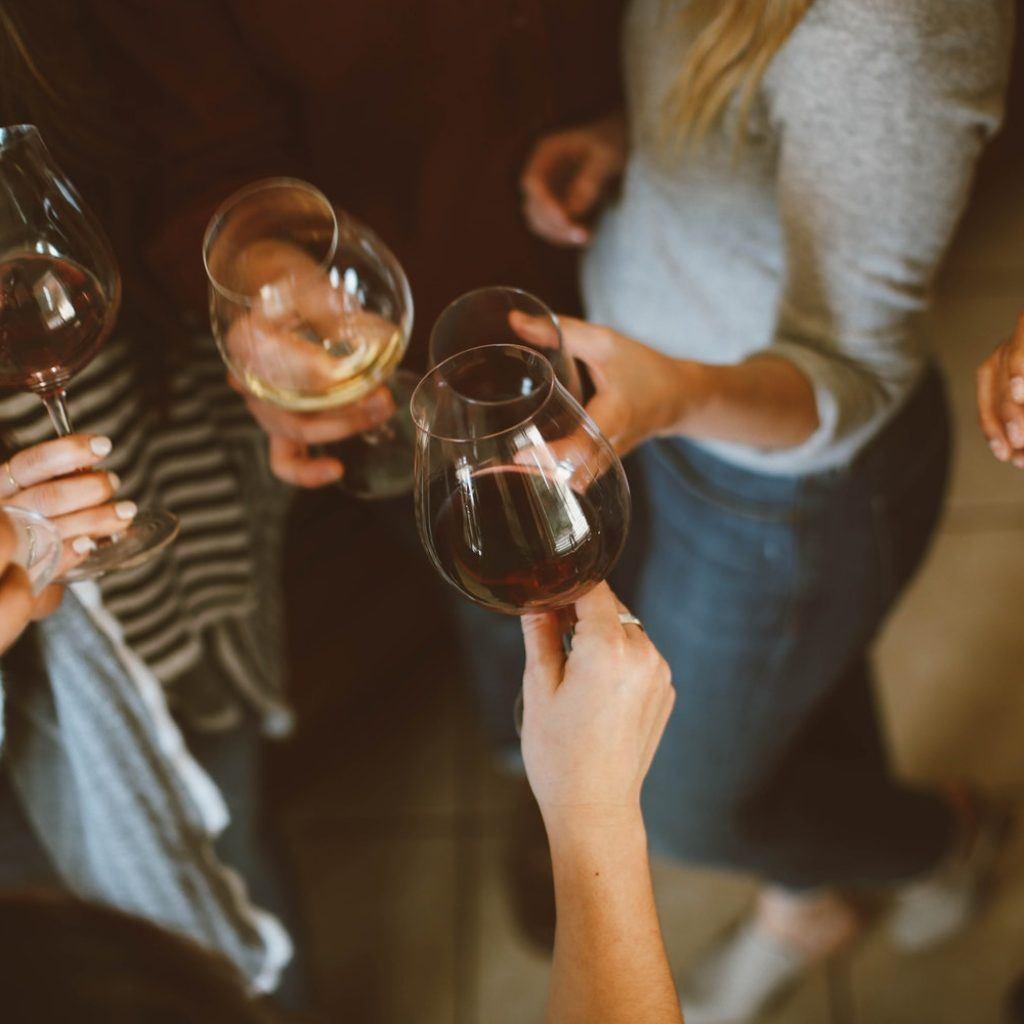friendship goals with wine