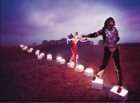 "Photo Credit: independent.co.uk - David LaChapelle's ""An Illuminating Path"""