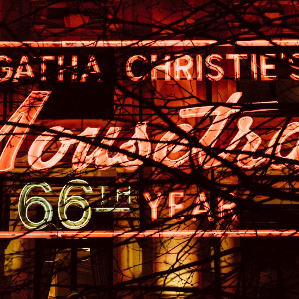 Lights Mousetrap St Martin's Theatre Theatre date