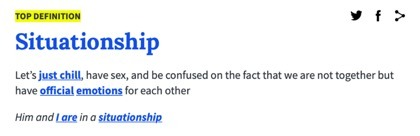situationship definition