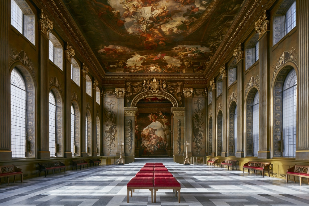 The painted hall is a place to love in London
