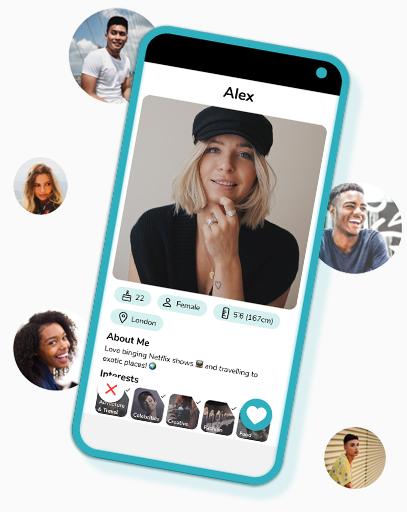 CLiKD Profile Screen